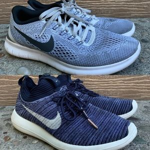 (2) Nike comfy running shoes